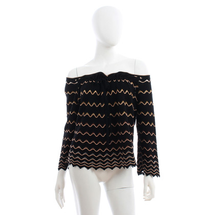 Missoni Top with zig zag pattern