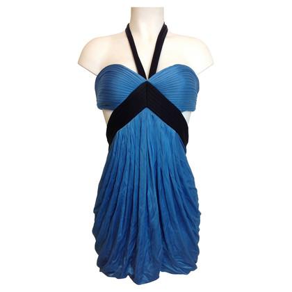 BCBG Max Azria Blaues Kleid