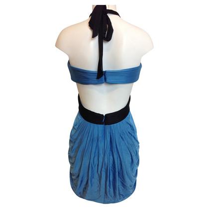 BCBG Max Azria Blauwe jurk