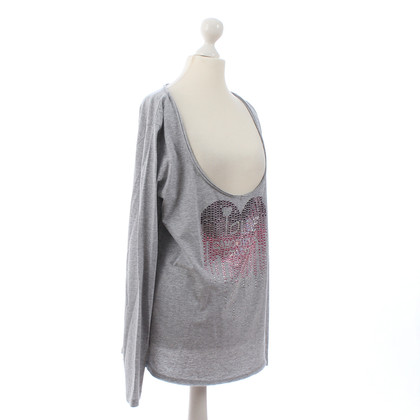 Camouflage Couture Top with Rhinestone