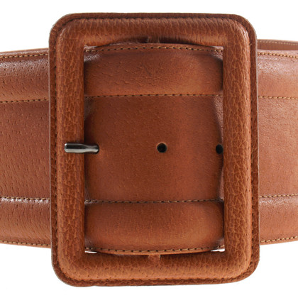 Yves Saint Laurent Brown belt