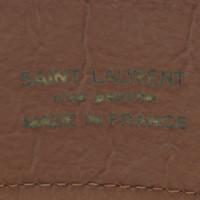 Yves Saint Laurent Brauner Gürtel