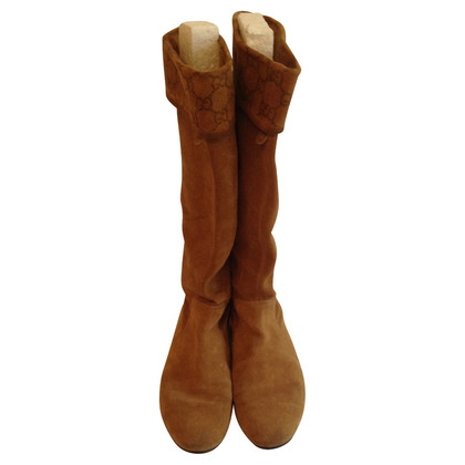 Gucci  BROWN BOOTS OF GUGGI