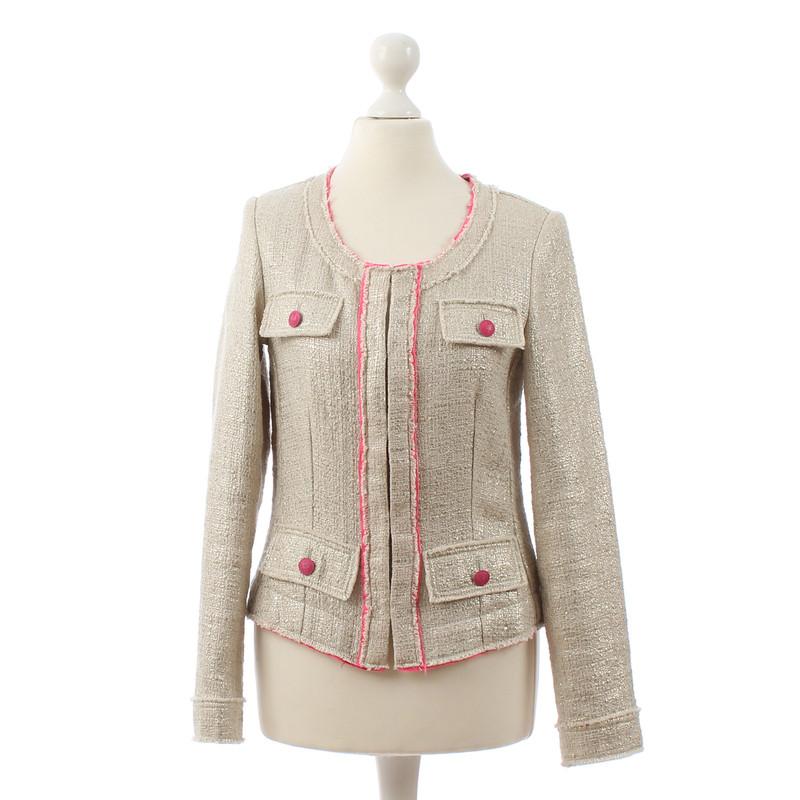 blonde no8 bahadori jacket with pink highlights buy. Black Bedroom Furniture Sets. Home Design Ideas