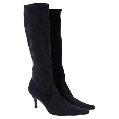 Casadei Corduroy boots black