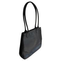 Longchamp Schwarze Henkeltasche