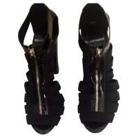 Pierre Hardy Black Sandal heels