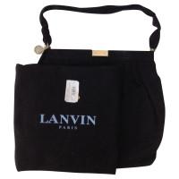 Lanvin Borsa in tessuto nero
