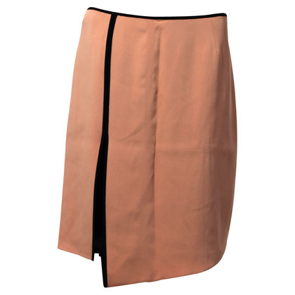 Reed Krakoff Asymmetric multi-layer silk skirt
