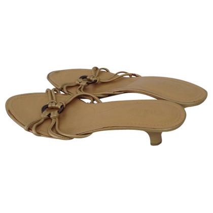 Tod's Golden sandals