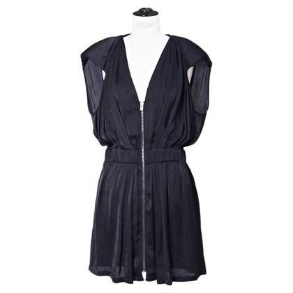 Iro Schwarzes Kleid mit Zipper