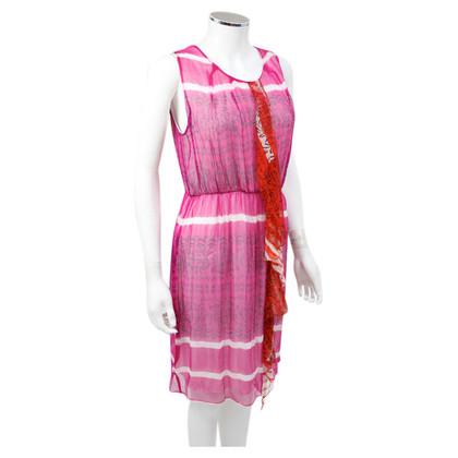 Allude Seidenkleid in Pink