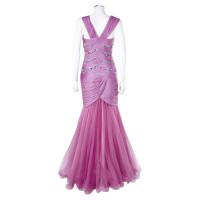 Barbara Schwarzer Evening dress lilac tulle skirt