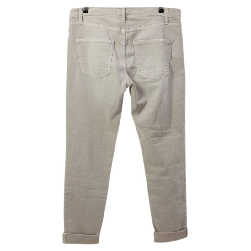 Current Elliott Sand-colored jeans - Buy Second hand Current ...