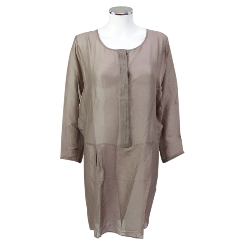 Other Designer Custommade - Brown silk tunic