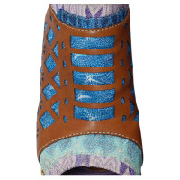 Missoni Plate-forme coloré des coins