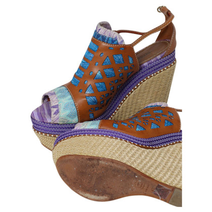 Missoni Colorful platform sandals