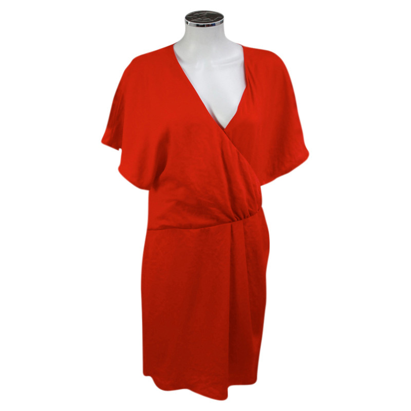 Patrizia Pepe Robe rouge-orange
