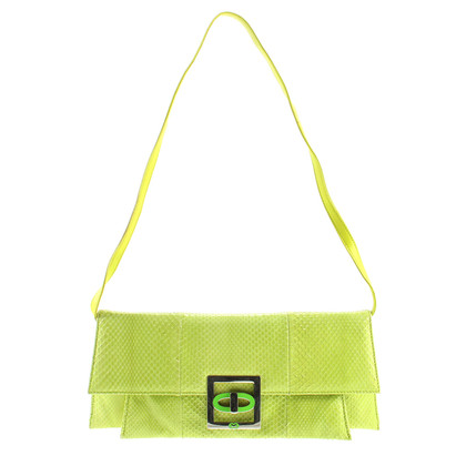 Escada Clutch - Green