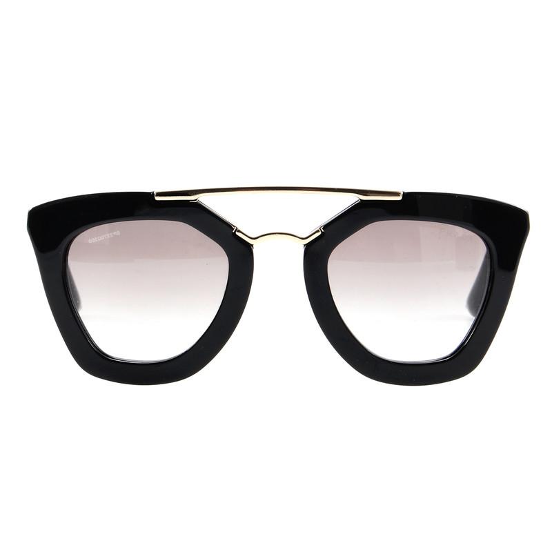 prada sonnenbrille mit rahmen von occhiali d second hand. Black Bedroom Furniture Sets. Home Design Ideas