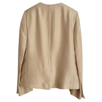 Stella McCartney Jarkett raw silk ecru