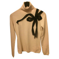 Red Valentino Turtleneck Sweater with decorative bow