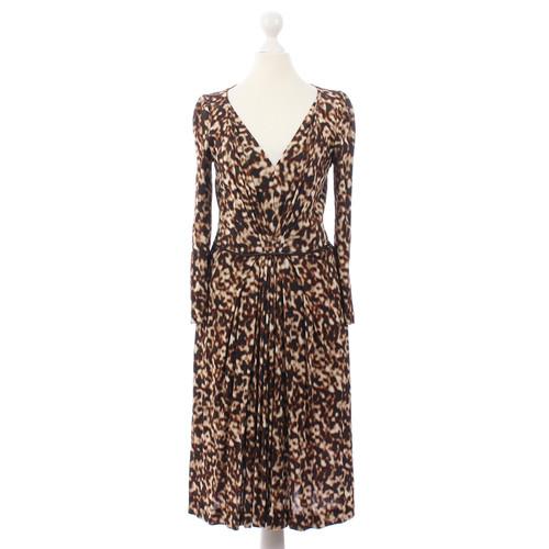 e68d48807f8c Alberta Ferretti Kleid mit Leopardenmuster - Second Hand Alberta ...