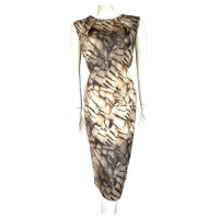 Escada Evening dress made of silk of with patterns