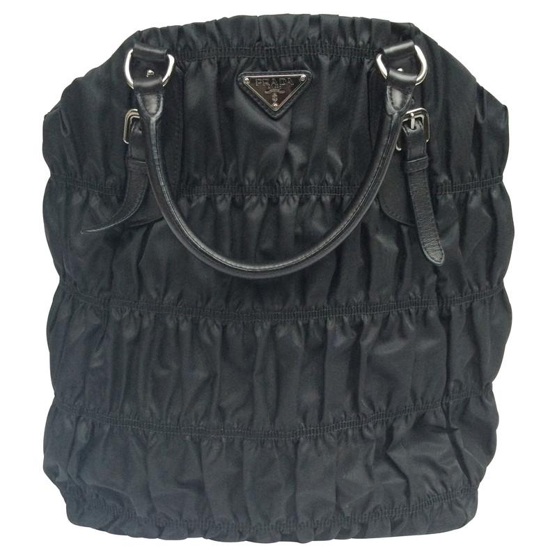 Prada Prada nylon bag in black