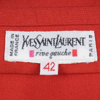 Yves Saint Laurent Rotes Wickelkleid