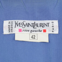Yves Saint Laurent Robe bleu