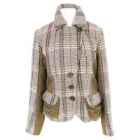 Sport Max SPORTMAX CODE jacket Plaid of classic equestrian style