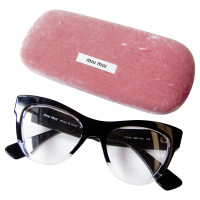 Miu Miu Miu Miu cat-eye glasses