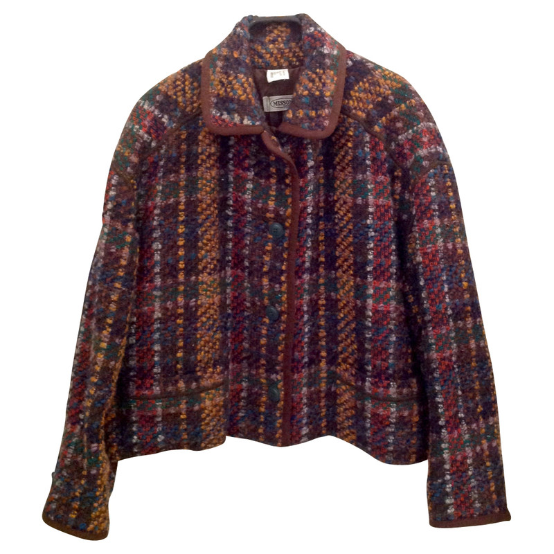 Missoni Missoni vintage 50s coloured blazer