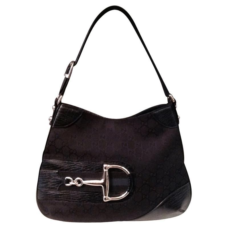 Gucci Tasche mit Horsebit Element