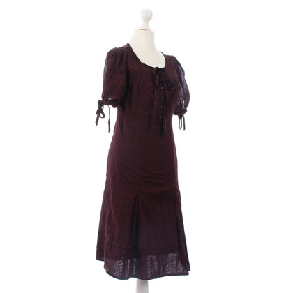 Marc by Marc Jacobs Kleid Aubergine