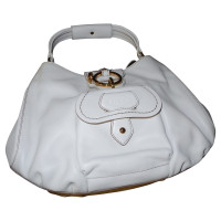 Tod's White leather bag