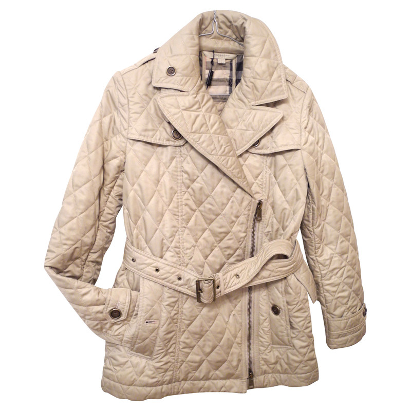 Burberry Beige quilted trench coat