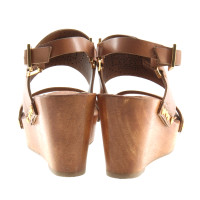 Tory Burch Wedges with wooden sole