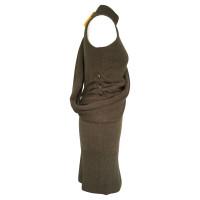 Fendi Camel wool knit dress