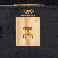 Hermès Kelly Bag made of crocodile leather