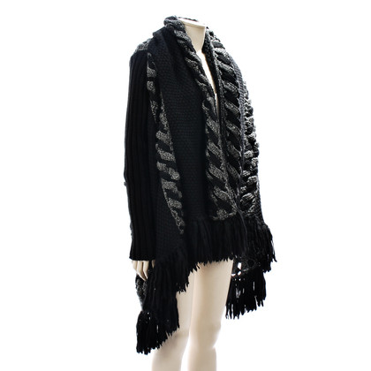 Catherine Malandrino Knit Jacket with fringe