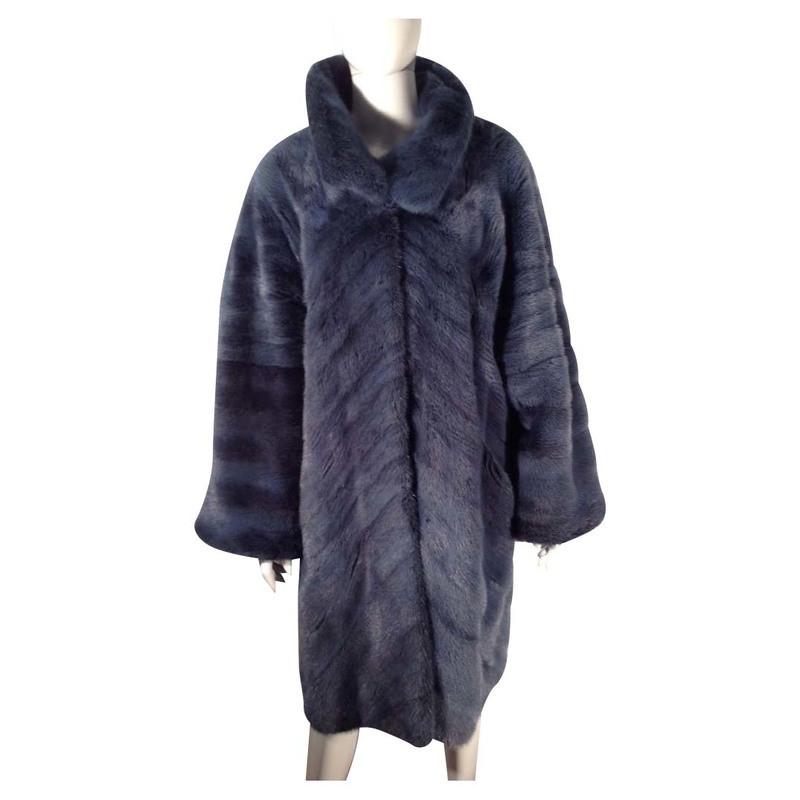 Other Designer Mink coat in blue
