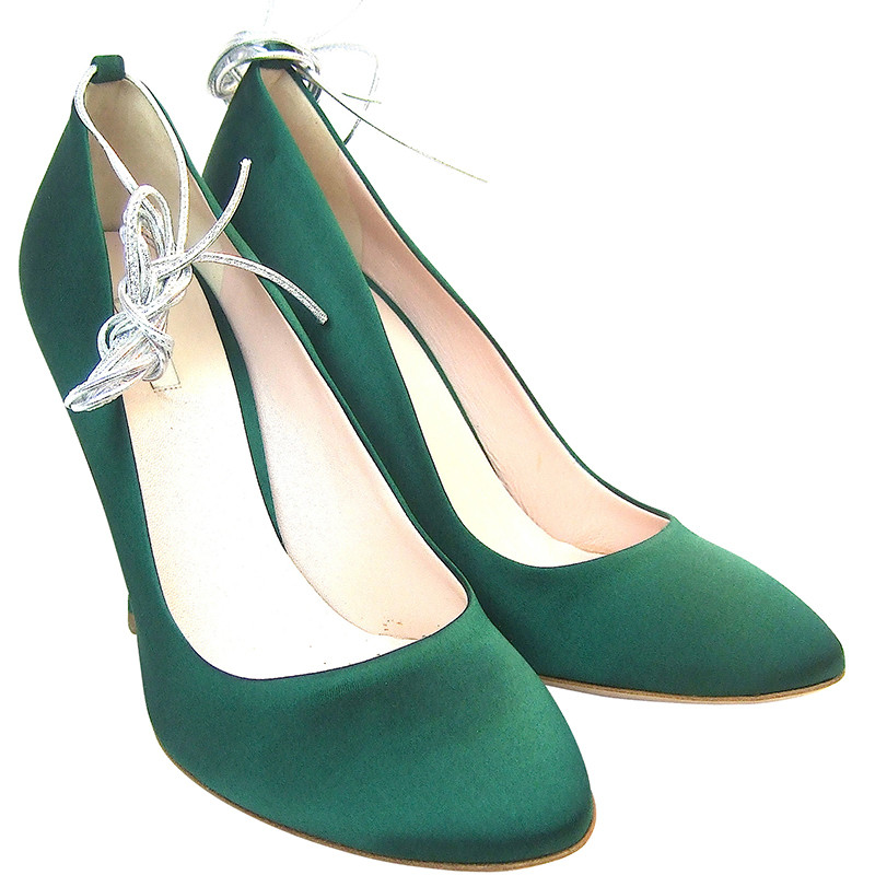 Miu Miu Green Pumps