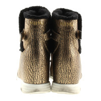 Marc by Marc Jacobs Sneaker wedges in gold