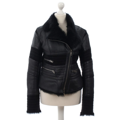Vent Couvert Lambskin leather jacket