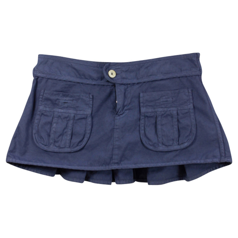 Dsquared2 Blauwe mini rok