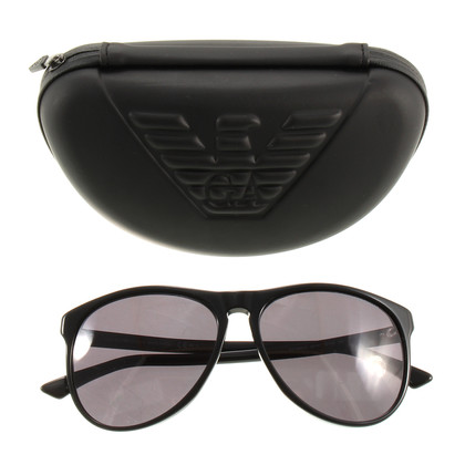 Armani Zwarte zonnebril