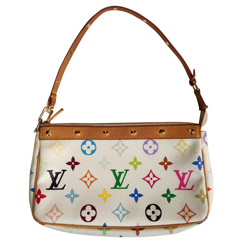 Louis Vuitton Pochette Monogram meerkleurige