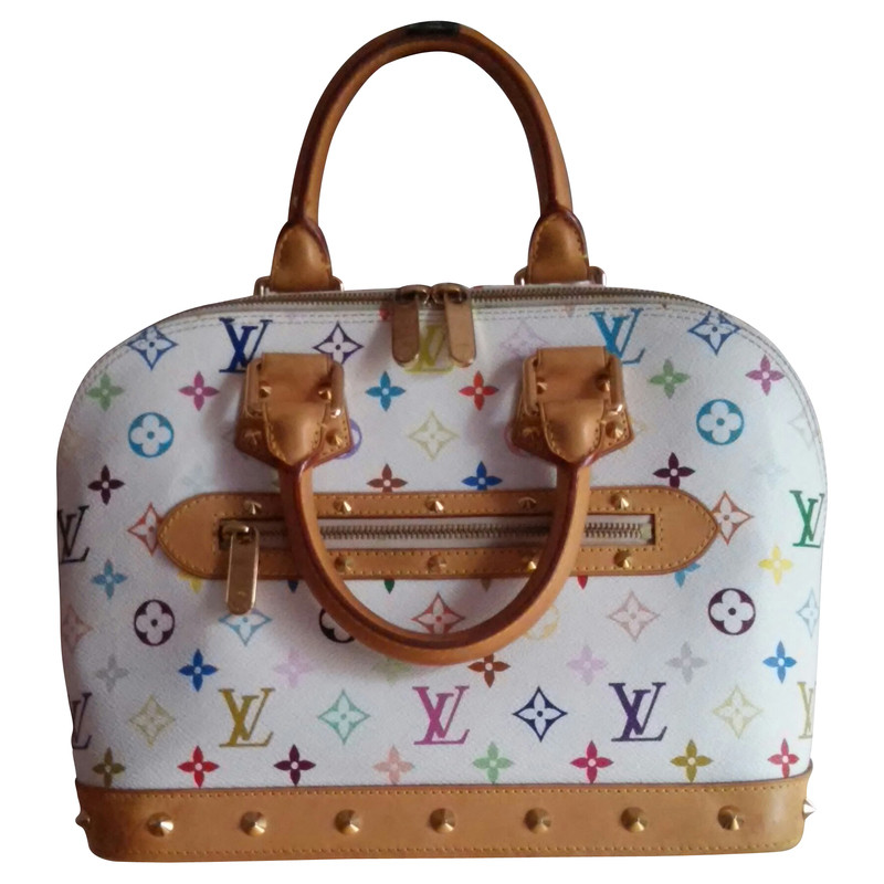 Louis Vuitton Alma MM veelkleurige